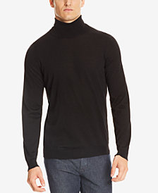 BOSS Men's Extra-Fine Merino Wool Turtleneck Sweater