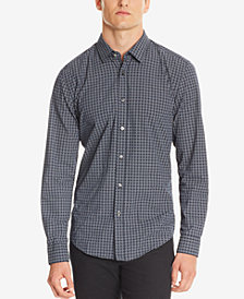 BOSS Men's Slim-Fit Nautical Cotton Shirt
