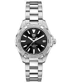TAG Heuer Women's Swiss Aquaracer Stainless Steel Bracelet Watch 32mm