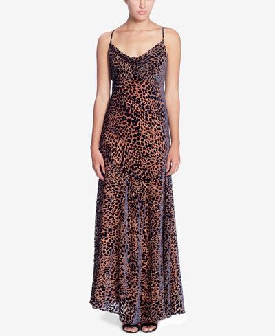 Catherine Malandrino Bias-Cut Maxi Slip Dress
