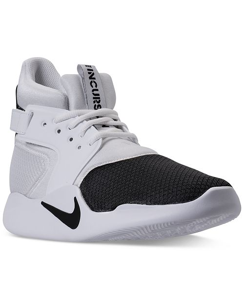 Nike Men s Incursion Mid Basketball Sneakers from Finish Line ... 6034c987d4b
