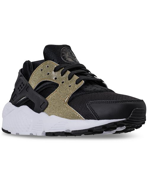 33f53d7b10e8 ... Nike Big Girls  Air Huarache Run SE Running Sneakers from Finish ...
