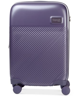 "Dazzling Plume 20"" Expandable Hardside Carry-On Spinner Suitcase"