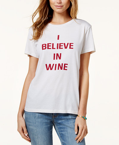 ban.do Cotton Wine Graphic T-Shirt