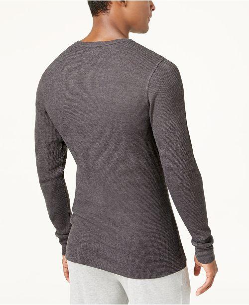 Alfani Men S Thermal Shirt Created For Macy S Underwear