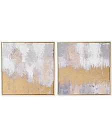 Laguna Mist Wall Art, Set of 2
