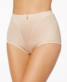 Women's  Light Tummy-Control Hi Cut Thong-Silhouette Panty 01214