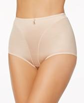 37e72bd0c42f0 Leonisa Women's Light Tummy-Control Hi Cut Thong-Silhouette Panty 01214