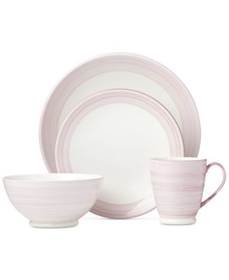 Charles Lane 4-Pc. Place Setting Created for Macyu0027s  sc 1 st  Macyu0027s & kate spade new york Charles Lane Dinnerware Collection Created for ...
