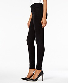 Petite Ponte Pull-On Leggings, Created for Macy's