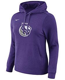 Nike Women's Sacramento Kings Logo Hooded Sweatshirt