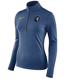 Nike Women's Minnesota Timberwolves Element Pullover