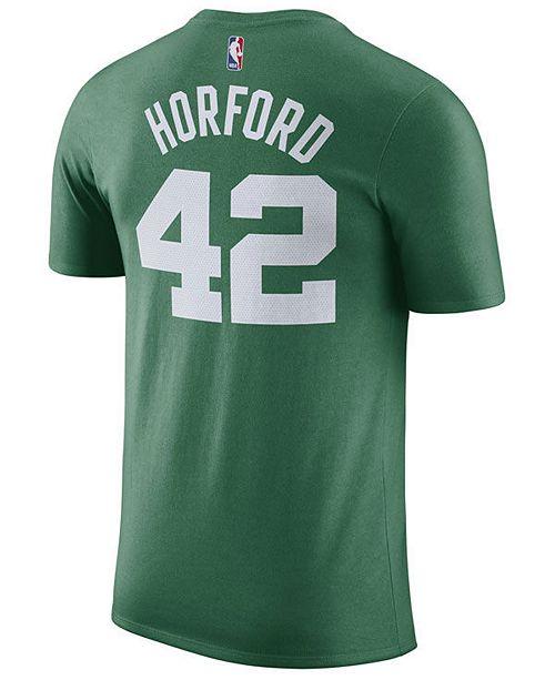 uk availability 4cc7a ffbe5 Men's Al Horford Boston Celtics Name & Number Player T-Shirt