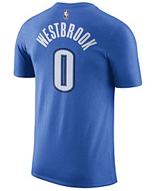 Men's Russell Westbrook Oklahoma City Thunder Name & Number Player T-Shirt