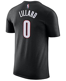 Men's Damian Lillard Portland Trail Blazers Name & Number Player T-Shirt