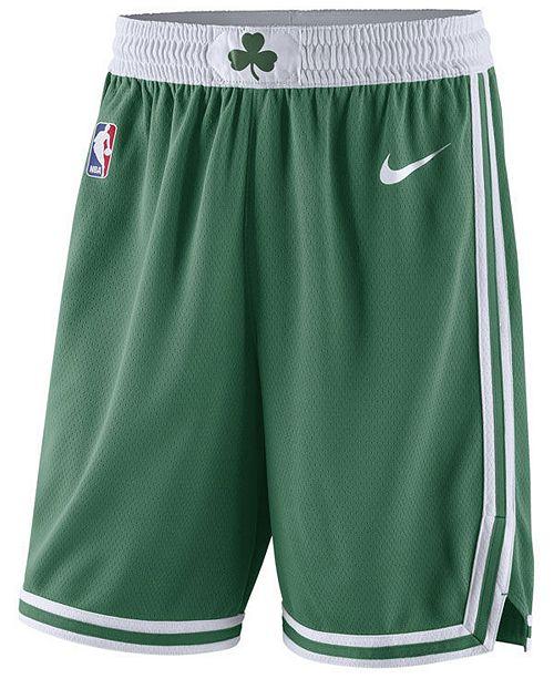 Nike Men s Boston Celtics Icon Swingman Shorts - Sports Fan Shop By ... d894080364eb