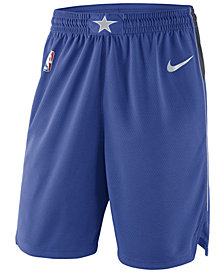 Nike Men's Dallas Mavericks Icon Swingman Shorts