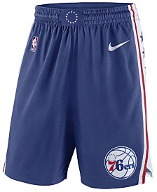 Nike Men's Philadelphia 76ers Icon Swingman Shorts