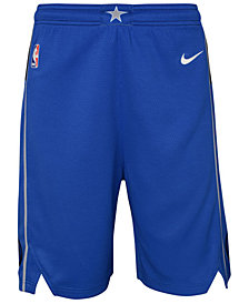 Nike Dallas Mavericks Icon Swingman Shorts, Big Boys (8-20)