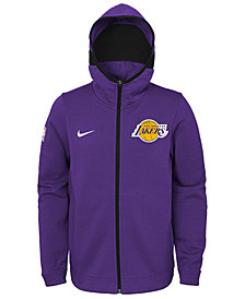 Nike Los Angeles Lakers Showtime Jacket, Big Boys (8-20)