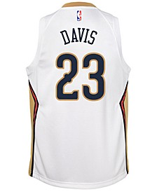 Anthony Davis New Orleans Pelicans Association Swingman Jersey, Big Boys (8-20)