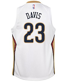 Nike Anthony Davis New Orleans Pelicans Association Swingman Jersey, Big Boys (8-20)