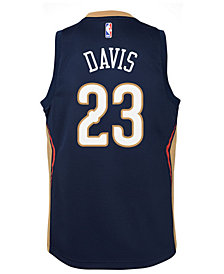 Nike Anthony Davis New Orleans Pelicans Icon Swingman Jersey, Big Boys (8-20)