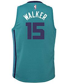 Nike Kemba Walker Charlotte Hornets Icon Swingman Jersey, Big Boys (8-20)