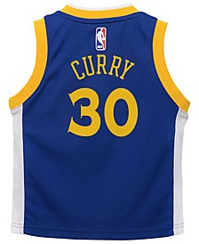 Stephen Curry Golden State Warriors Icon Replica Jersey, Toddler Boys