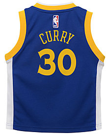 Nike Stephen Curry Golden State Warriors Icon Replica Jersey, Toddler Boys