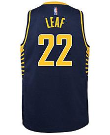 Nike T.J. Leaf Indiana Pacers Icon Swingman Jersey, Big Boys (8-20)