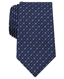 Nautica Men's Mellen Grid Silk Tie