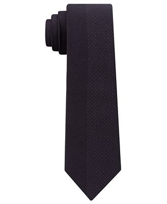 Calvin Klein Men's Panel Slim Tie