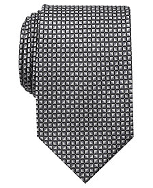 Perry Ellis Men's Navale Geometric Tie