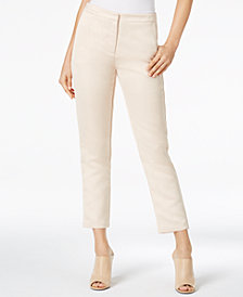 Glam by Glamorous Cropped Straight-Leg Pants, Created for Macy's