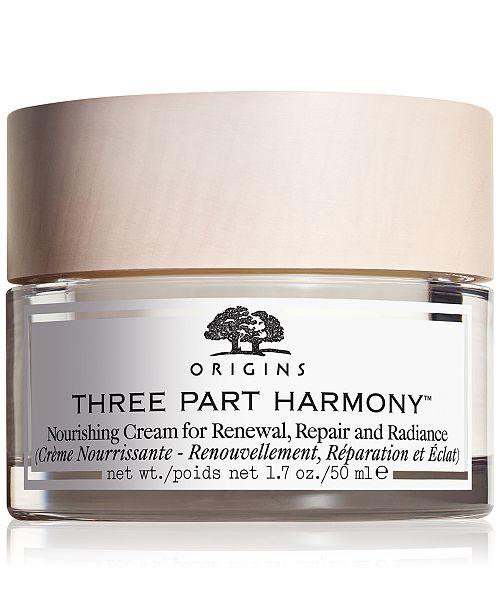 Origins Three Part Harmony Nourishing Cream, 1.7 oz