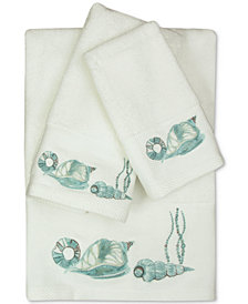Bacova La Mer Cotton Embroidered Bath Towel