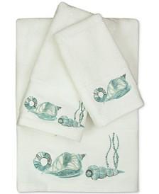 Bacova La Mer Cotton Embroidered Bath Towel