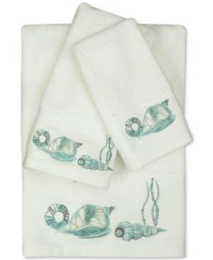 Bacova La Mer Cotton Embroidered Bath Towel Bedding