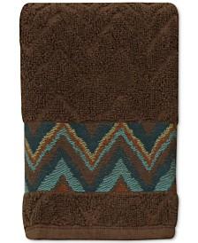 Bacova Sierra Cotton Zig-Zag Fingertip Towel