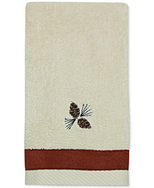 Bacova North Ridge Cotton Embroidered Fingertip Towel