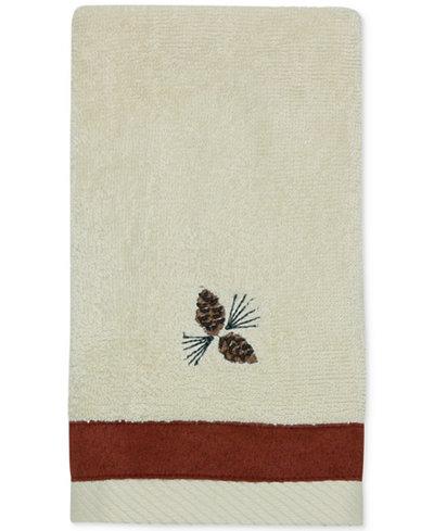 Bacova North Ridge Cotton Embroidered Fingertip Towel