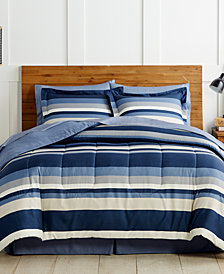 Austin 8-Pc. Reversible California King Bedding Ensemble