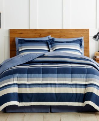 Austin 8 Pc. Reversible Bedding Ensembles, Created For Macyu0027s