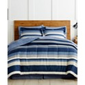 Fairfield Square Collection Austin 6 Piece Reversible Bedding Ensemble