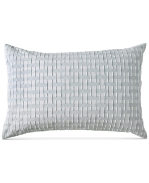 Image of Dkny Refresh Cotton Tufted-Chenille Broken Stripe Standard Sham Bedding