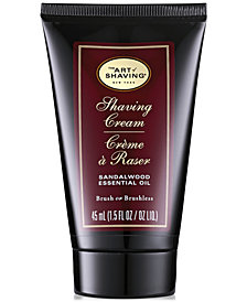 The Art of Shaving Men's Sandalwood Shaving Cream, 1.5 oz.