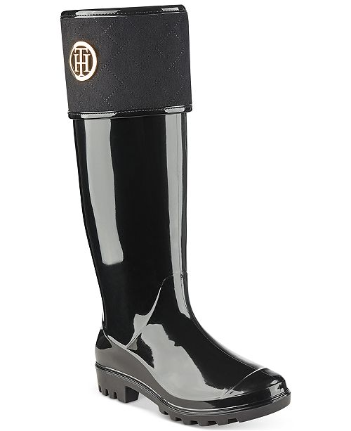 san francisco 730e6 acd1d Tommy Hilfiger Shiner Rain Boots & Reviews - Boots - Shoes ...