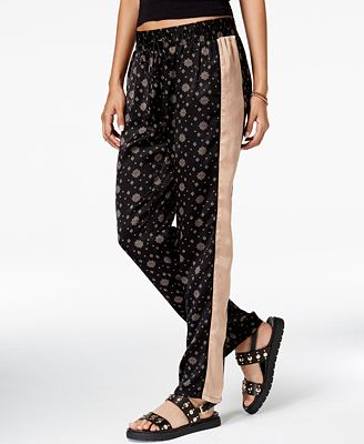 Be Bop Juniors' Printed Drawstring Pants