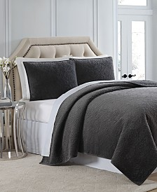 Charisma Regent Velvet Coverlet Collection